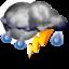 Гроза Облачно с прояснениями