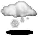 Слабый снег Облачно с прояснениями