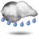 Ливневый дождь Переменная облачность